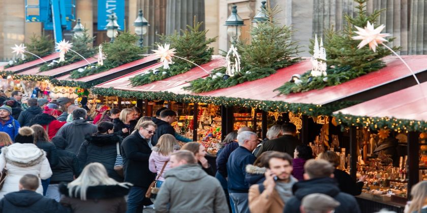 Local Traders Are The Heart Of Edinburgh's Christmas Market