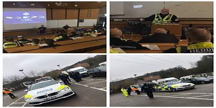 Officers Team Up With Partners To Target Metal Theft In Gwent