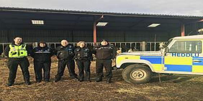 Rural Crime Team Released Into The Wild