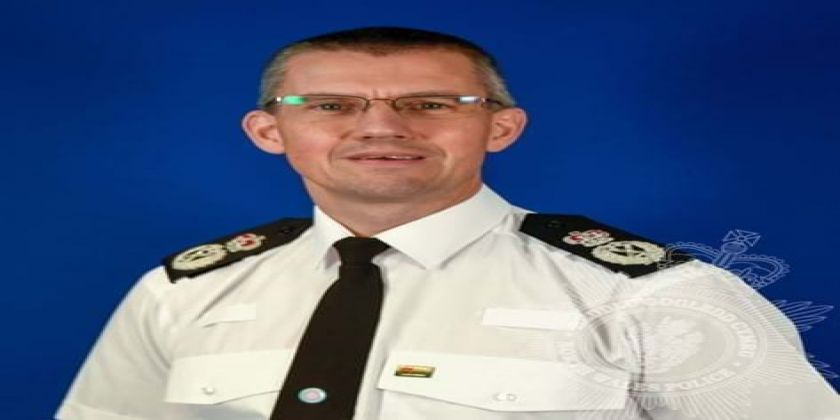 Chief Constable Carl Foulkes Recognised In Queen's Honours List