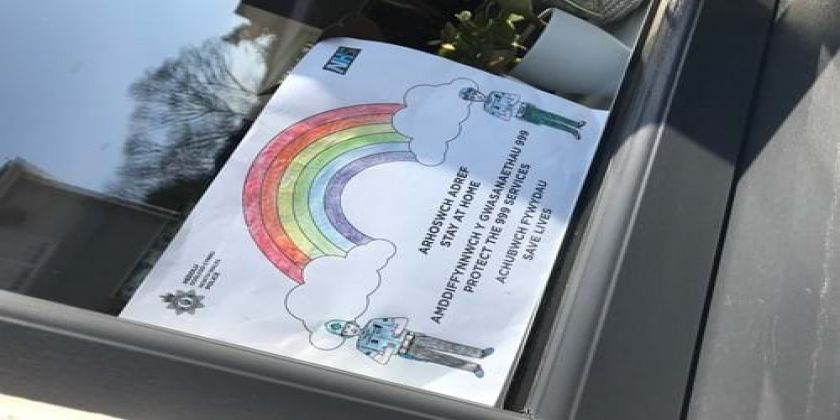 Rainbows In Windows To Spread Joy During Coronavirus Outbreak