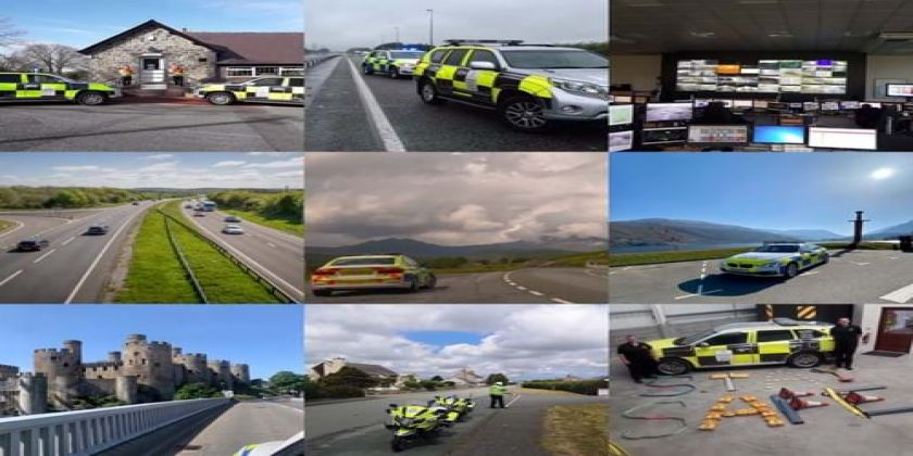 Roads Policing Units & Traffic Wales Promote Partnership Working