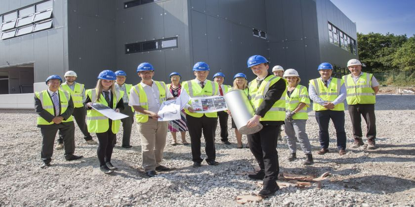 Time Capsule Buried At Connah's Quay High School