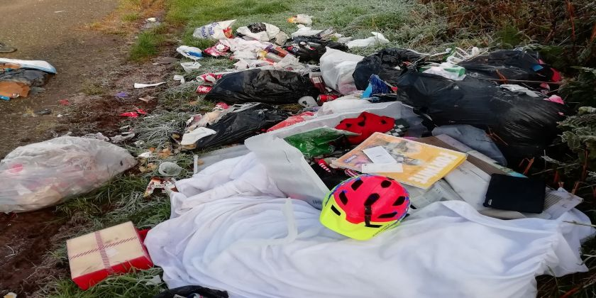 Council Seeks Info On Two Fly-tipping Incidents