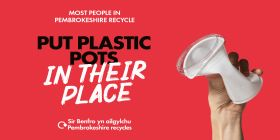 Council Supports Mighty Mission To Help Wales Become The Number One Recycling Nation This Recycle Week