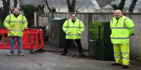 First Cabinets Installed In Major Milestone For Ultrafast Broadband Project