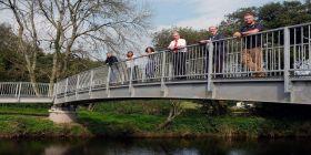 Footbridge Links Up Paths To Create New 'cleddau Reaches' Walk