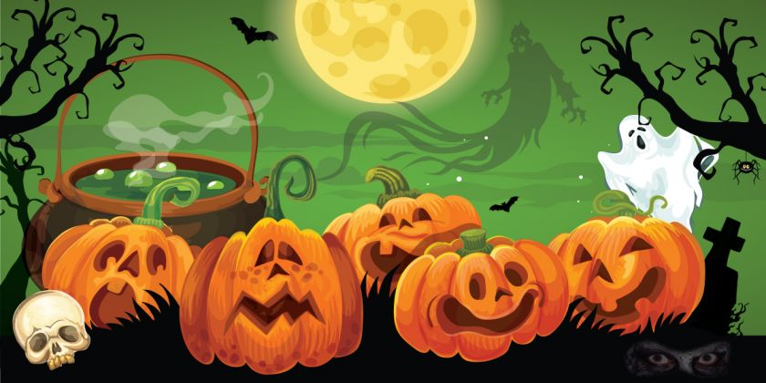 Halloween At Half Term At Spooky Scolton