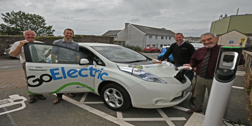 More Electric Vehicle Charging-points Available