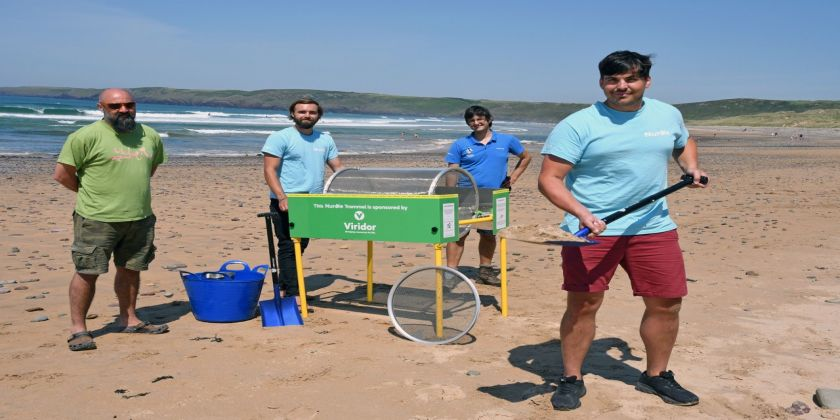 New Weapon In Fight Against Beach Micro Plastics