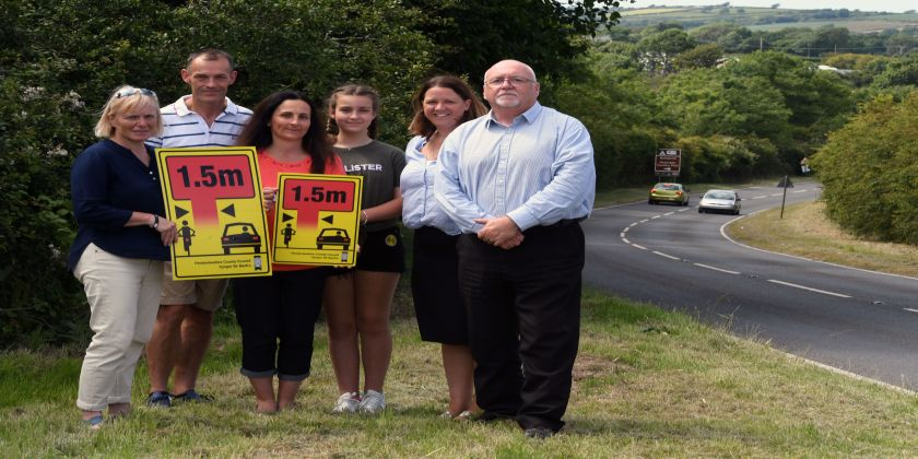 Safety Boost For Cyclists In Pembrokeshire