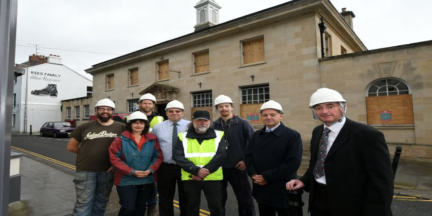 Thi Project To Renovate Old Post Office