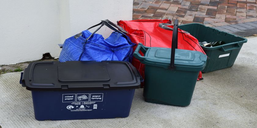 Waste And Recycling Centres Close But Kerbside Collections Continue