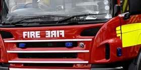 Small Fire In Open In Widnes