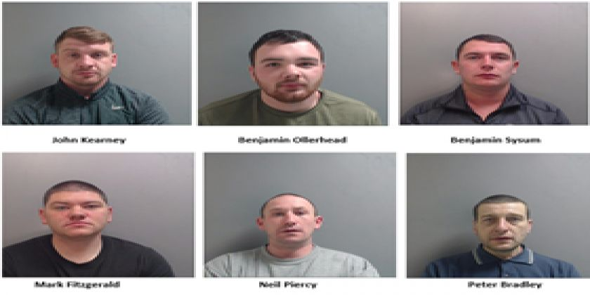 Six Men Jailed For Total Of 34 Years For Attacking Cash Machines - Cheshire Police