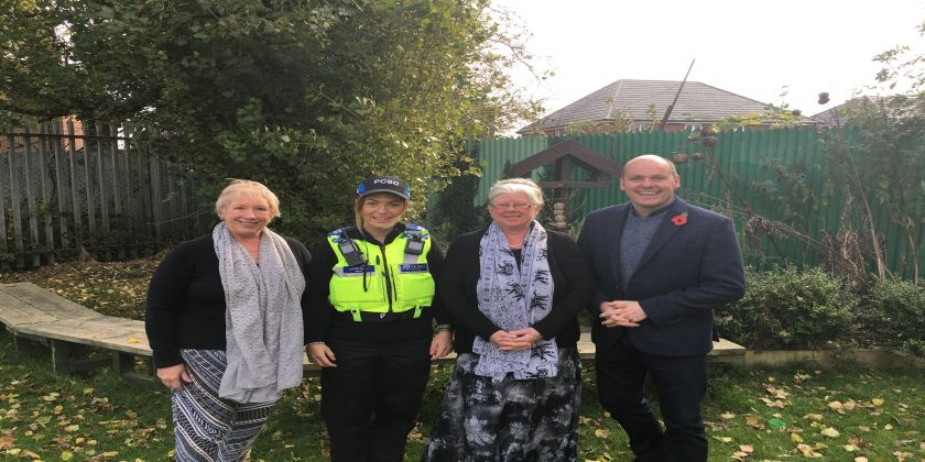 Pcc Funds Project Which Reduces Social Isolation In Crewe