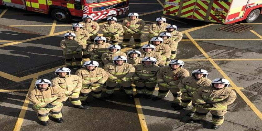 North Wales Fire And Rescue Service Celebrates White Ribbon Accreditation On White Ribbon Day