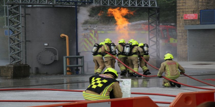 New Apprenticeship Scheme For South Wales Firefighters