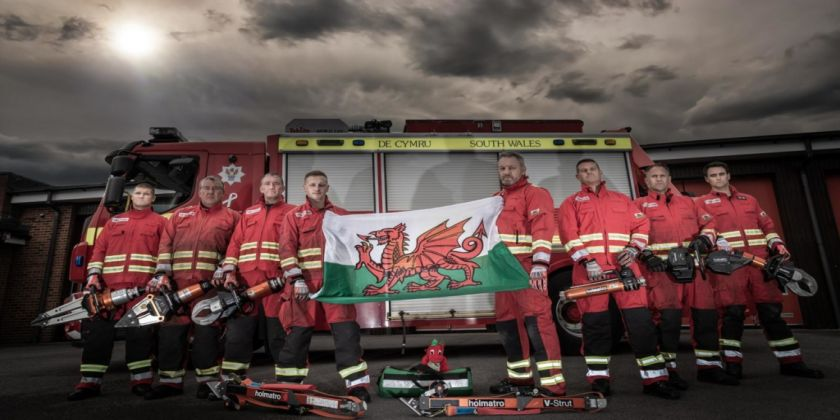 South Wales Firefighters Compete To Defend Their Title In World Rescue Challenge 2019