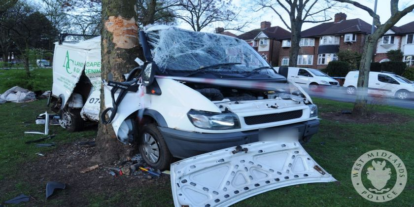 Driver Who Killed Roofer By Forcing Van Off Road Jailed