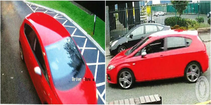 Images Released Of Car In Sandwell Following Attempted Abduction