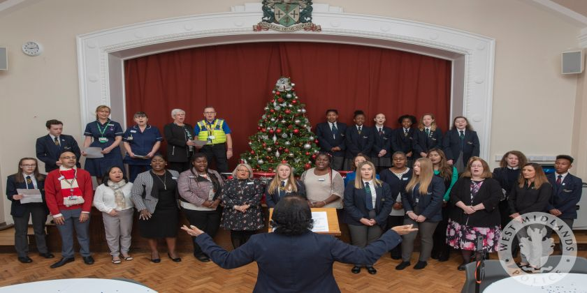 Sandwell Sings For Success With Christmas Cd