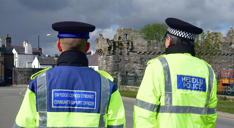 Forty Two Additional Officers Announced For Dyfed-powys Police