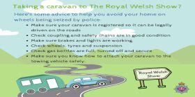 Caravan Safety Checks For Royal Welsh Show