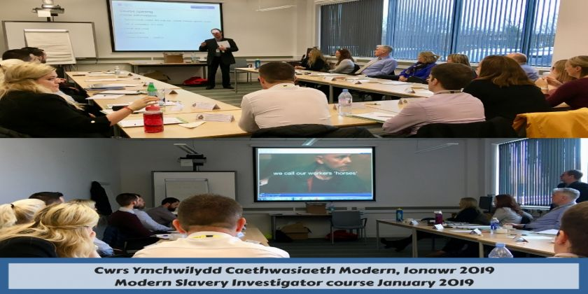 Dyfed-powys Police Hosts First Modern Day Slavery Investigator Course In Wales