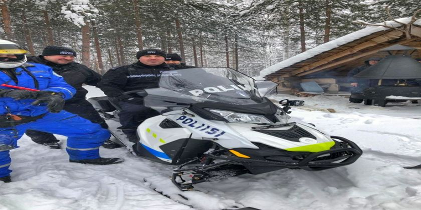 Finnish Driving Course Is Snow Joke For Brecon Roads Policing Officers