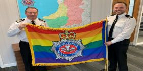 Force Flies The Flag For Lgb&t History Month