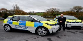 Greener Future For Police As Dyfed-powys Pcc Invests In Electric Cars