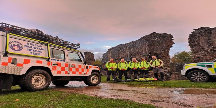 Police Sergeant Speaks About Volunteer Role With Brecon Mountain Rescue Team